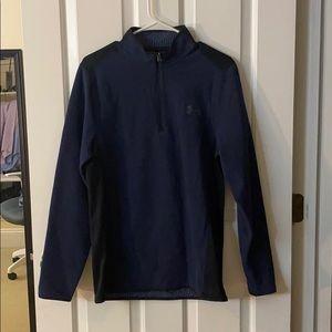 Quarter zip under armour sweatshirt